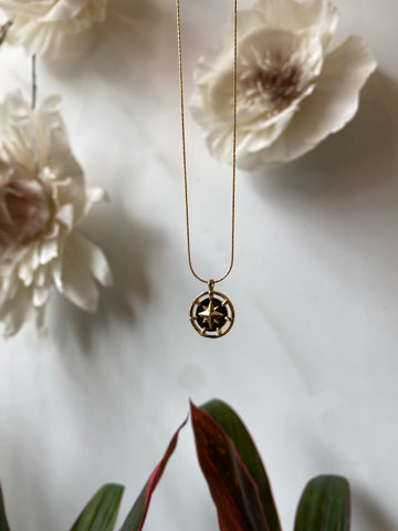 Nuance Wonderlust Necklace ~ Compass