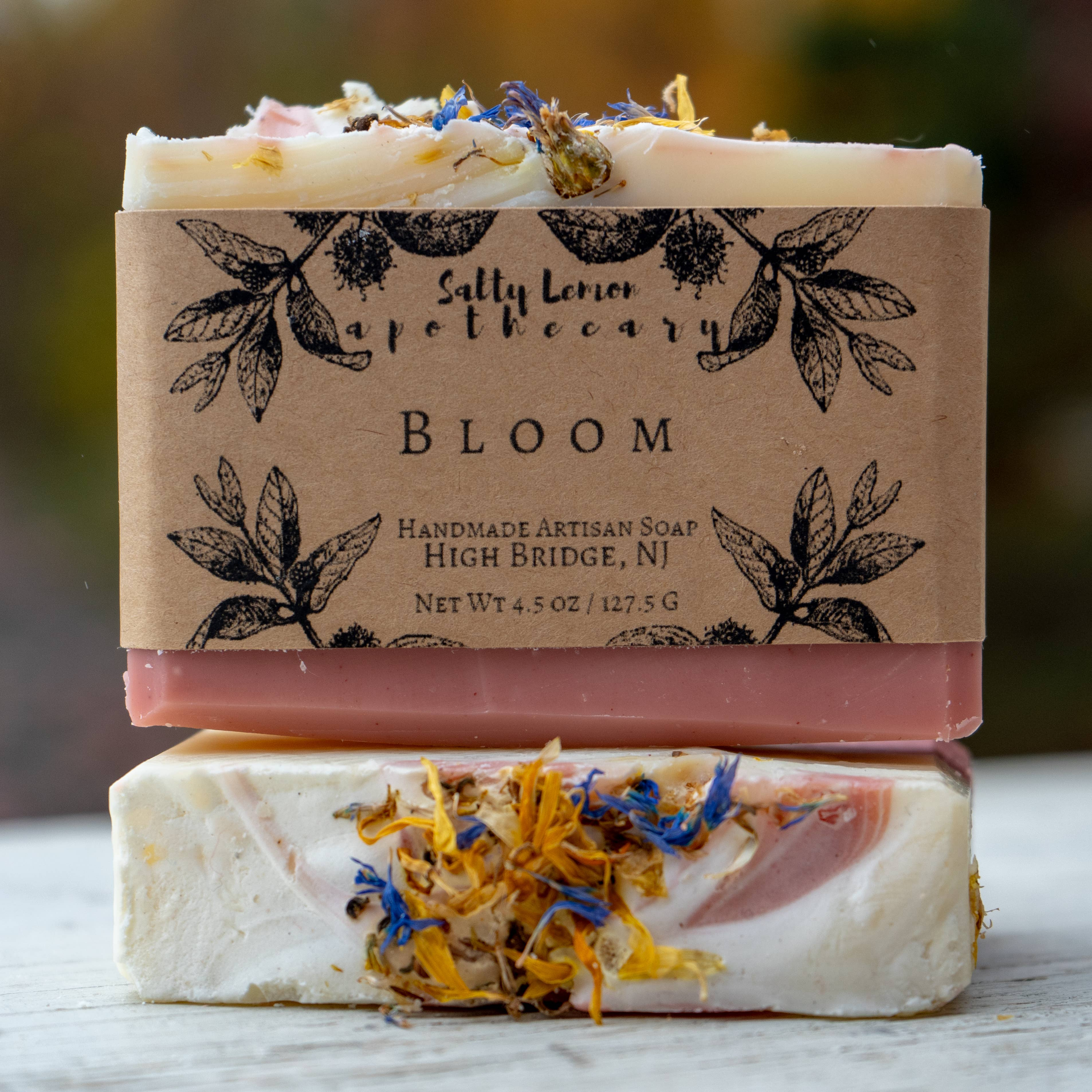 Salty Lemon Apothecary Bloom Soap