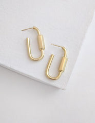 Nuance Carabiner Earrings
