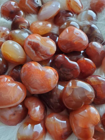 Witch's Way Carnelian Heart