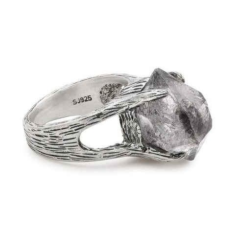Tribe Crystal Claw Ring