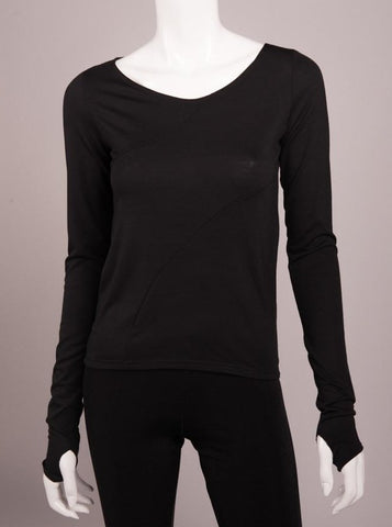 Bianca Rachele Pieced Knit Long Sleeve