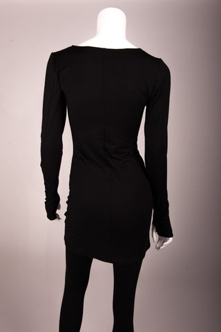 Bianca Rachele Long Sleeve Knit Fitted Dress