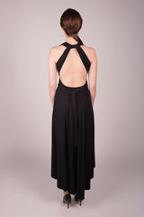 Orgotton Hi Low Infinity Dress