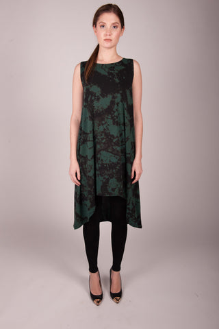 HE Collective Dyed Hi-Low Knit Dress
