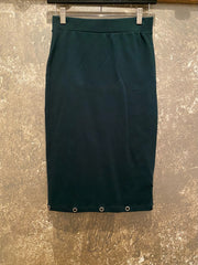 Tough Luv Green Grommet Pencil Skirt