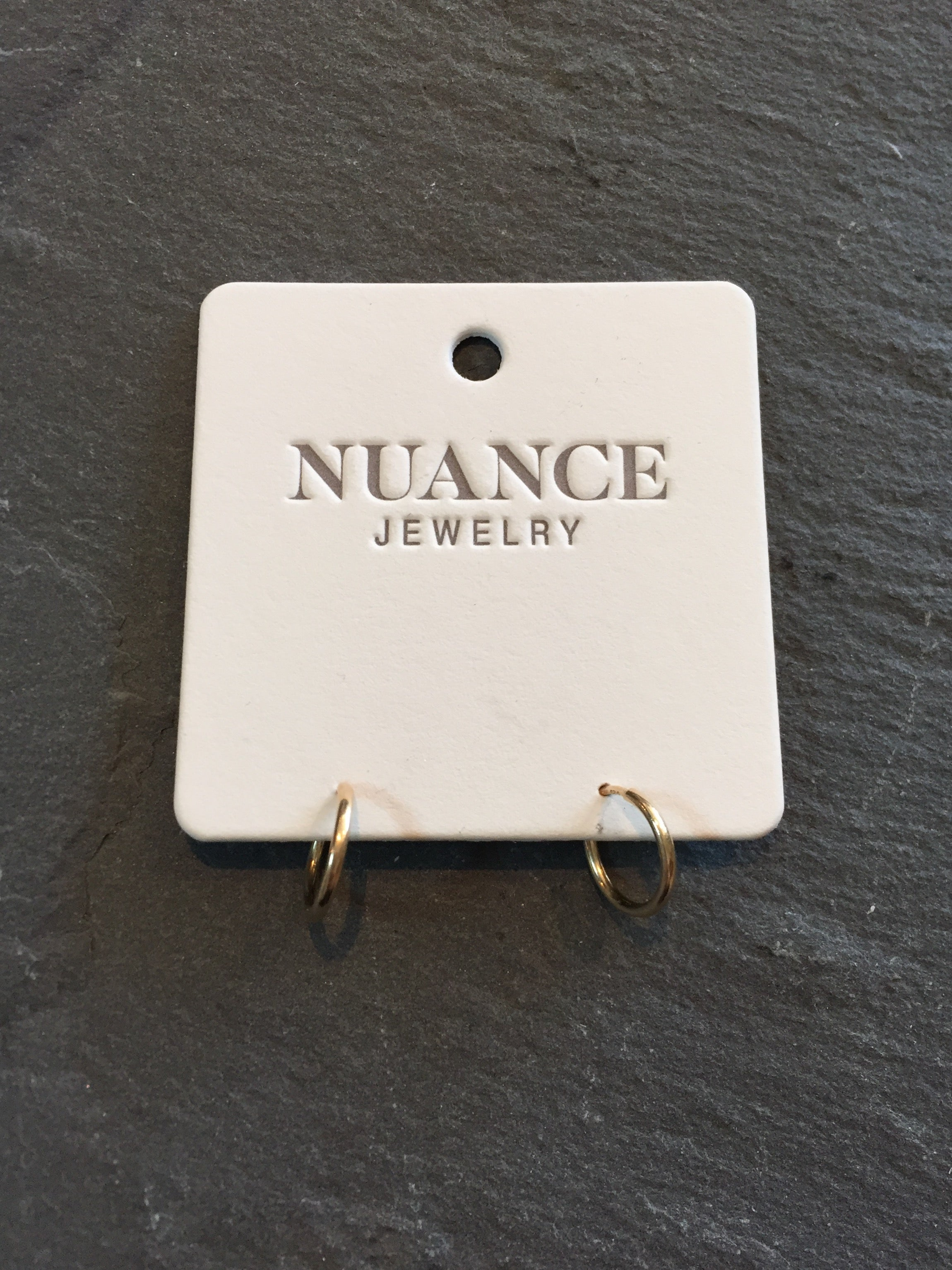 Nuance Gold-Filled Tiny Hoops