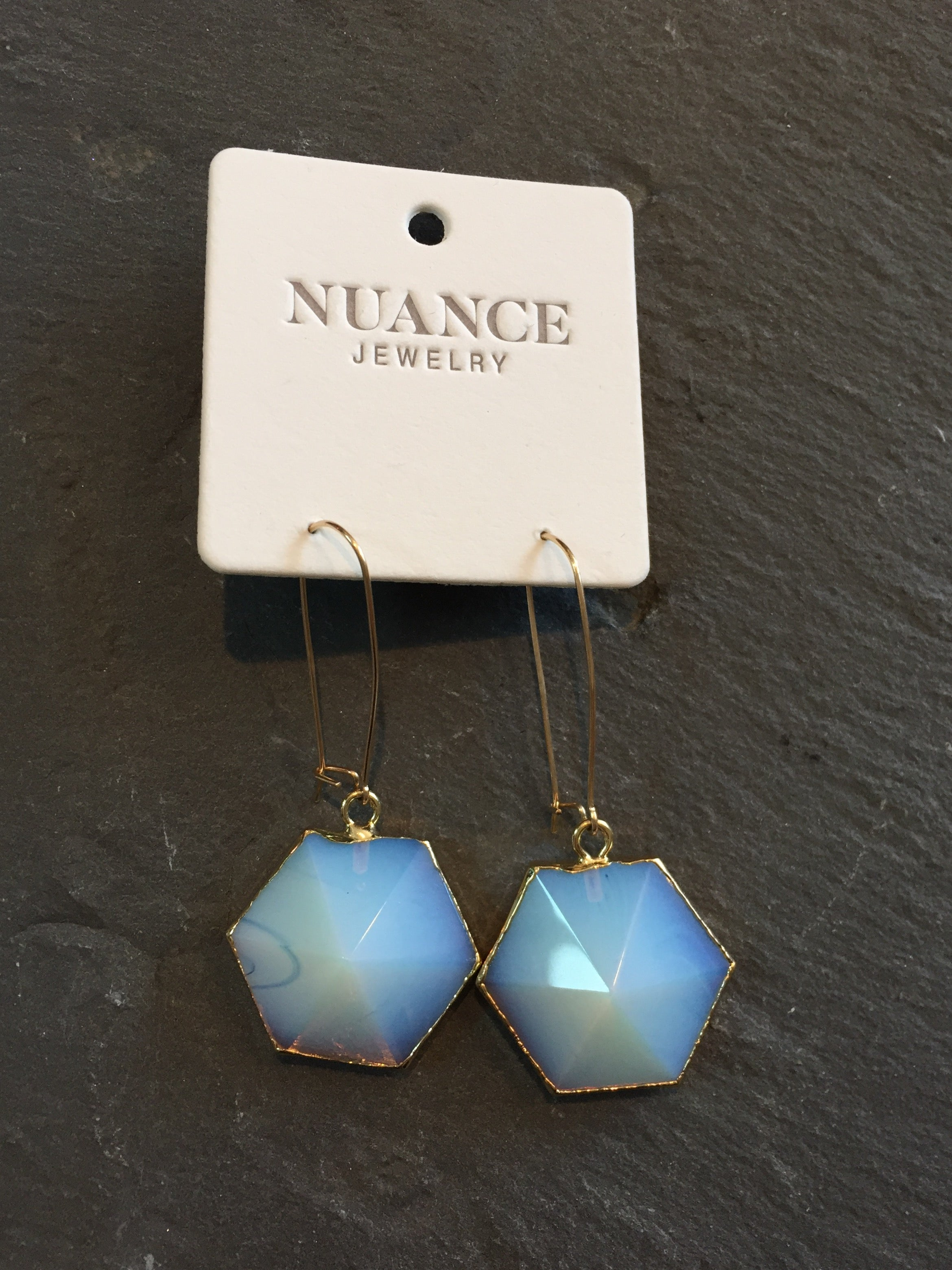 Nuance Hexagon Point Drops