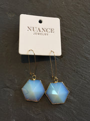 Nuance Hexagon Opal Drops