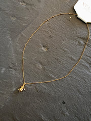 Nuance Gold Rosemary Necklace