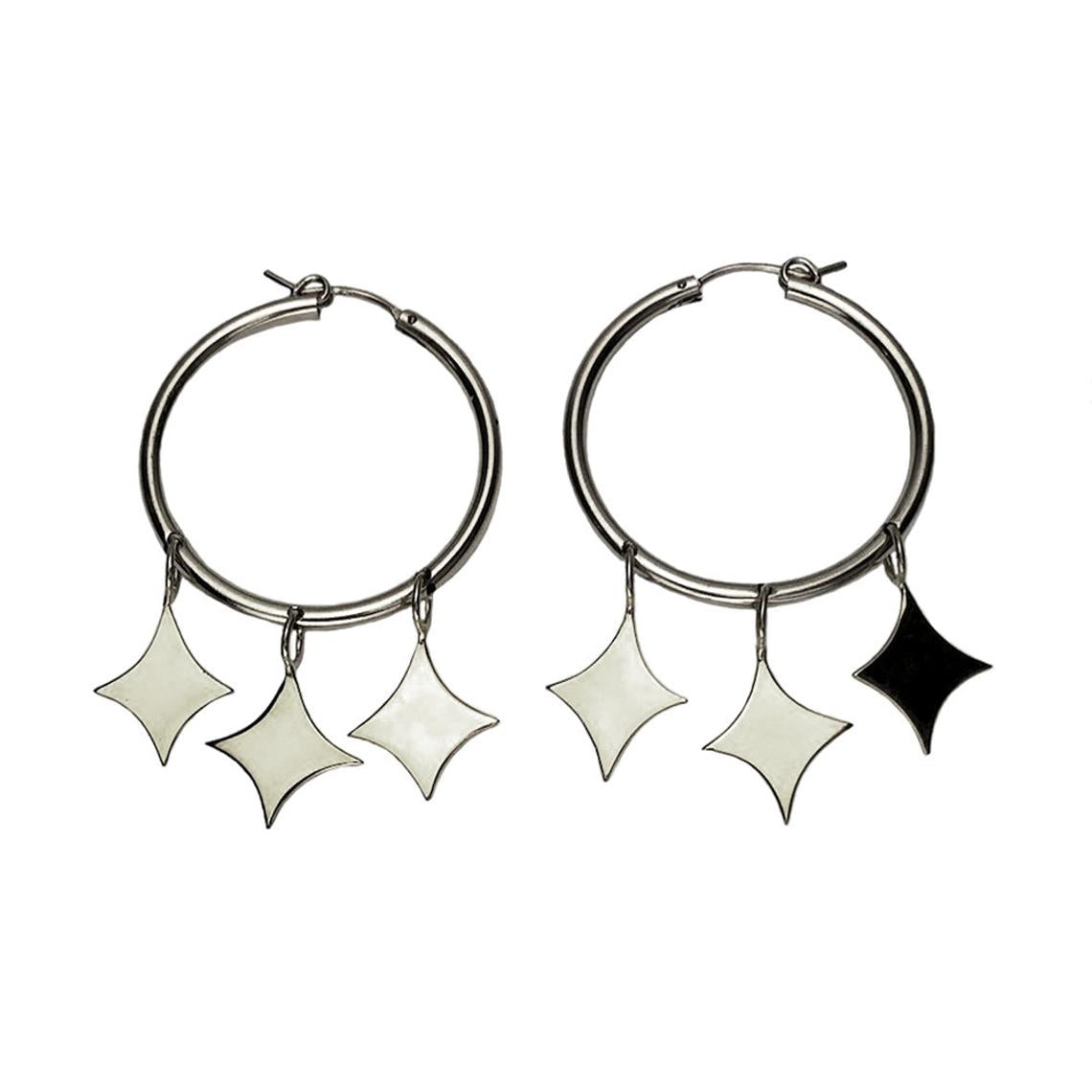 Hellhound Jewelry Galaxy Hoops