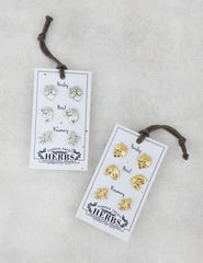 Nuance Herb Earrings with Plantable Card