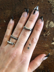 Hellhound Jewelry Coyote Bone Ring