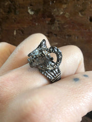Nuance Horned Ram Ring