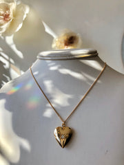 Nuance Heart Locket Necklace