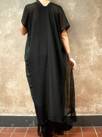 ADHD Driven Sheer Black Cover Up