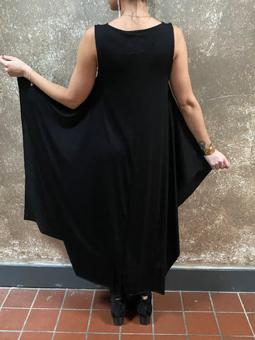 Sophi Reaptress Black Maxi Dress