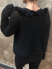 Independent Flavor Black Sweater
