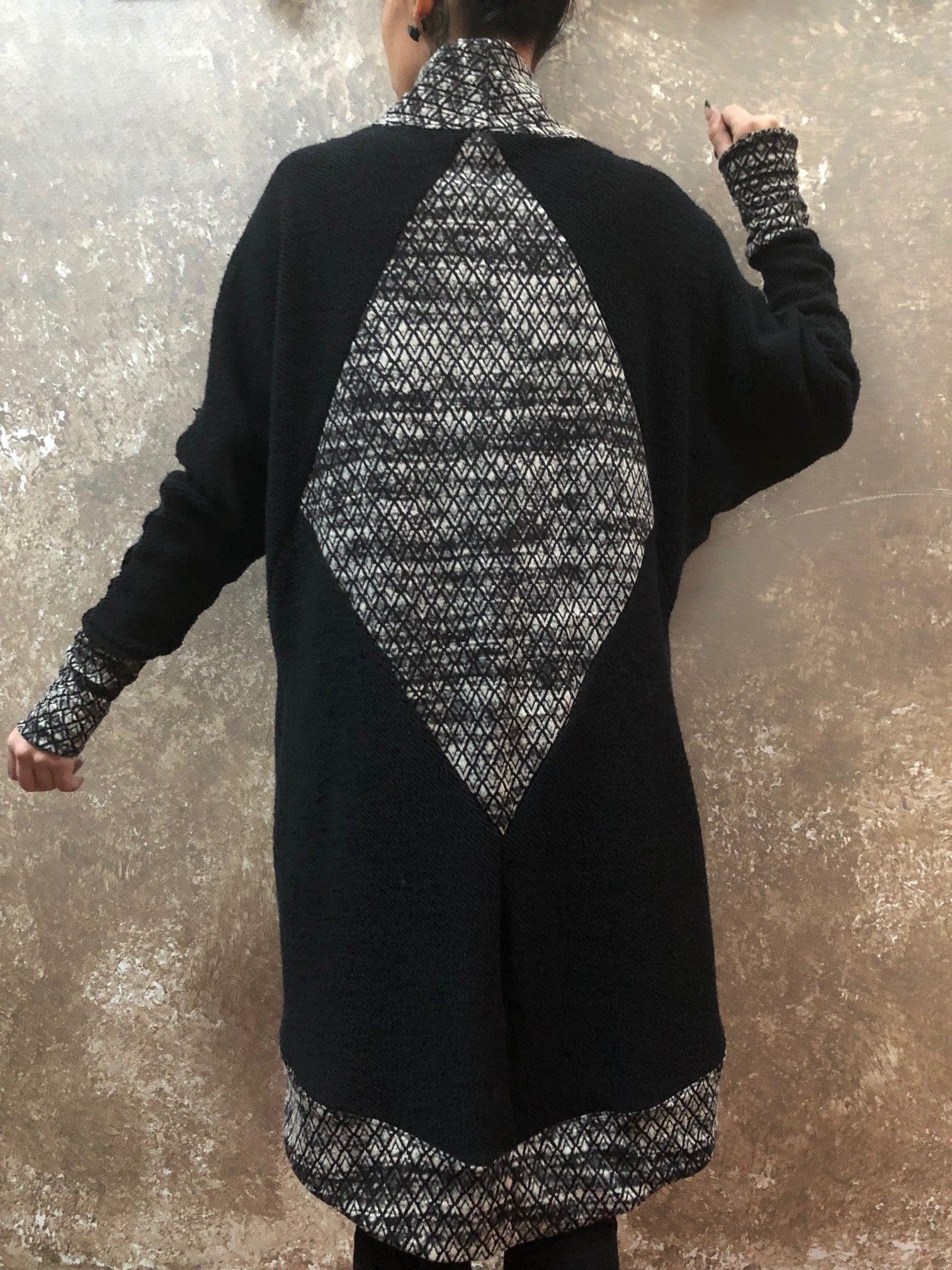 Bianca Rachele Diamond Back Sweater