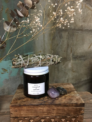 Small Candle Self Care Gift Set