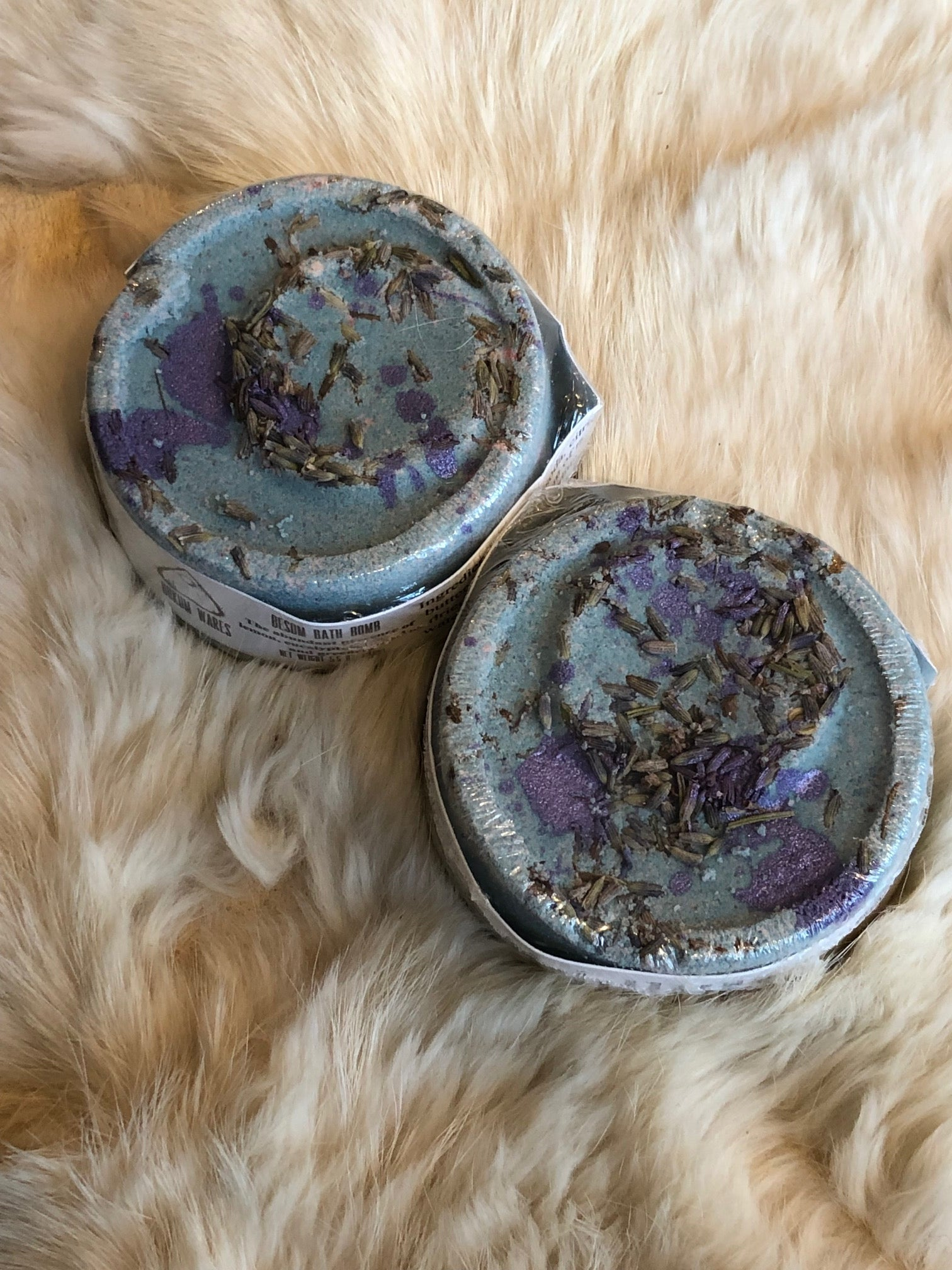 Hokum Wares Levitation Bath Bomb in Lavender