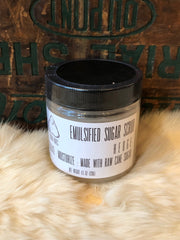 Hokum Wares Emulsified Sugar Scrub in Hedge