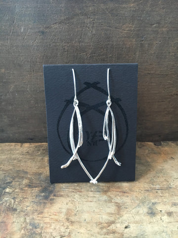 Cozen NYC Thin Bone Earrings