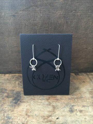 Cozen NYC Small Vertebrae Earrings