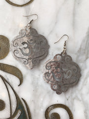 Ellen Durkan Script Earrings