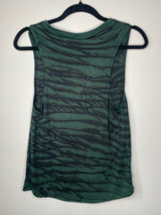 HE Collective Green Dyed Muscle Tank