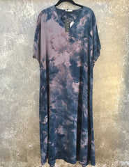 HE Collective Dyed Silk maxi Dress