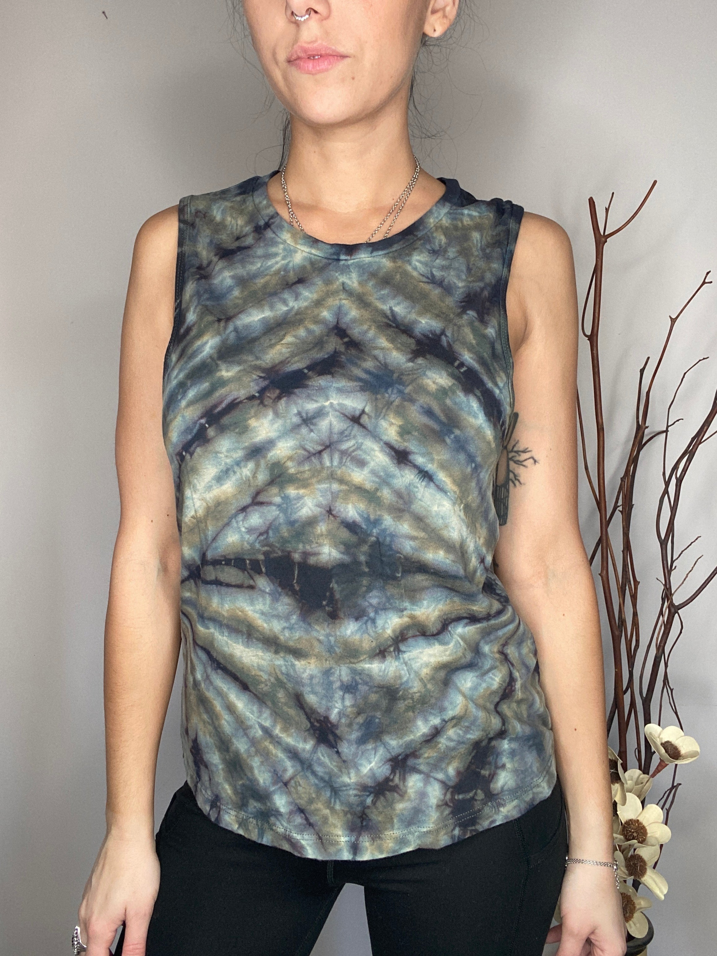 HE Collective Watercolor Muscle Tee