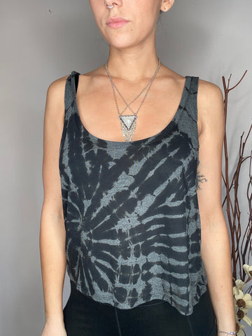 HE Collective Grey Dyed Tank