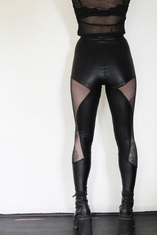Sophi Reaptress Side Mesh Leggings