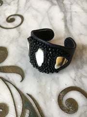 Musso Jewelry Leather Horn Cuff