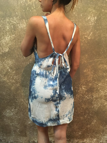 Bianca Rachele Bleached Denim Dress