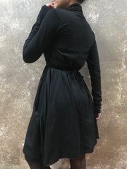 Tough Luv Black Long Sleeve Goddess Dress