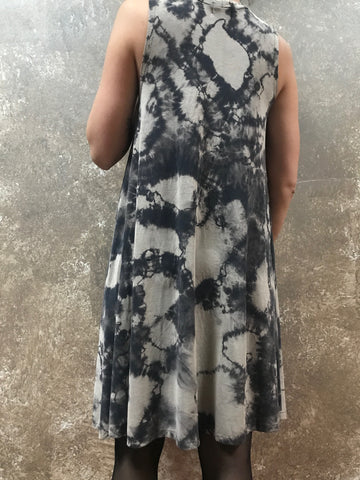 HE Collective Marble Dyed Swing Dress