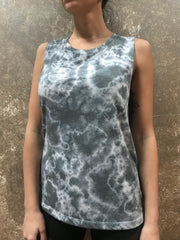 HE Collective Light Grey Dyed Muscle Tee