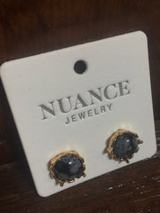 Nuance Baroque Gemstone Posts {More Colors Available}