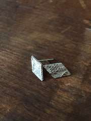 Vannucci Sterling Silver Diamond Studs