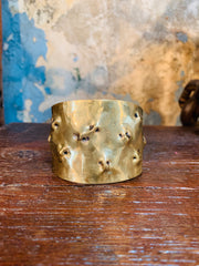 Dennis Higgins Emerging Mini Skull Cuff - Rounded