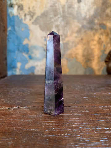 Witch's Way Amethyst Crystal Point