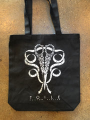 TOILE Tote Bag | BLACK |