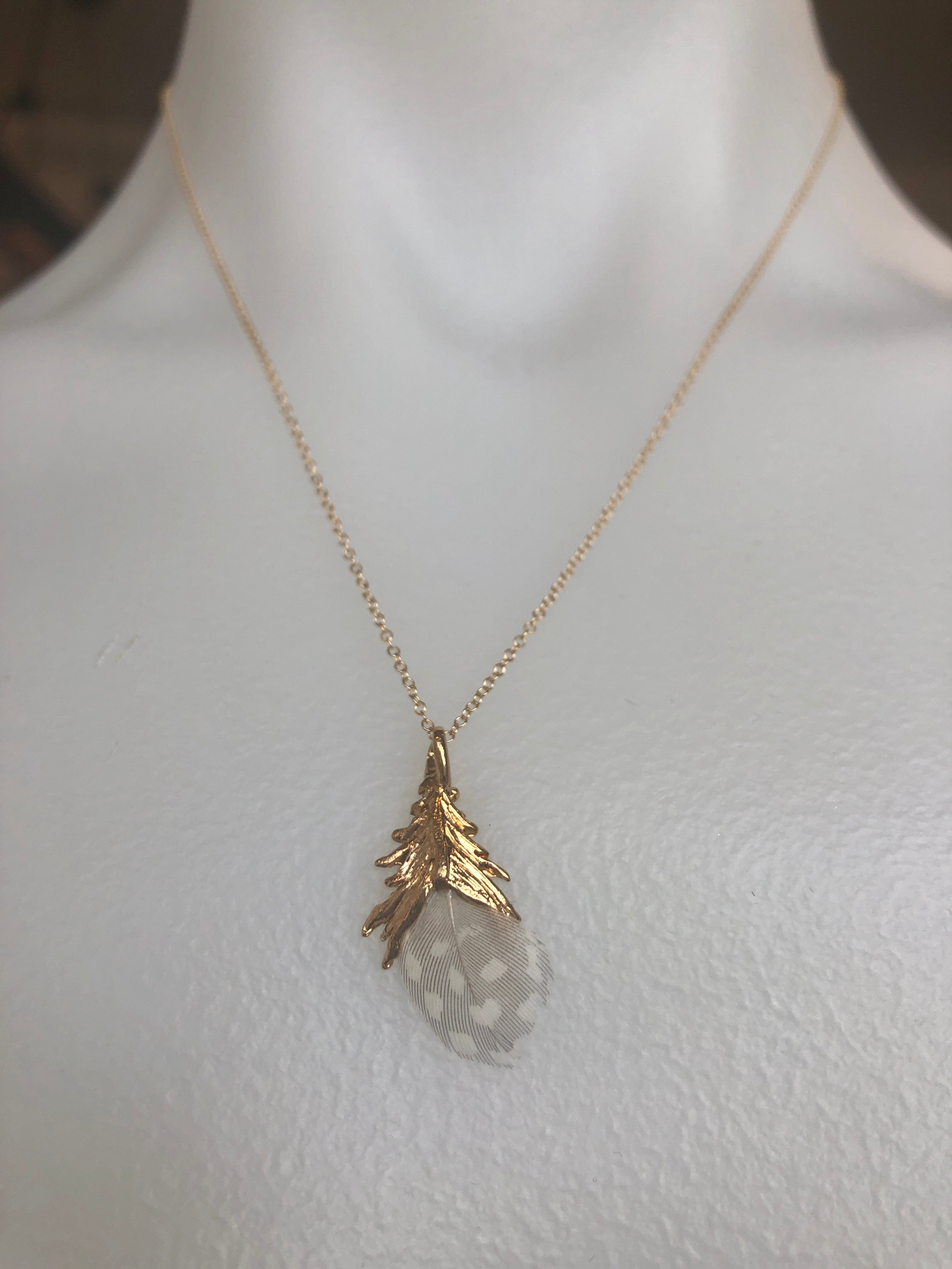 Nuance Mini Feather Necklace | MORE NEUTRAL COLOR OPTIONS |