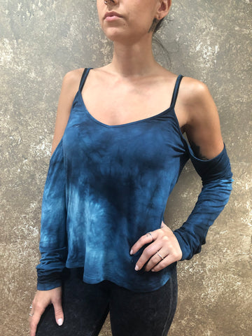 Seven Tees Andrea Cold Shoulder Top