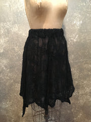 BlckBts Felted Black Skirt