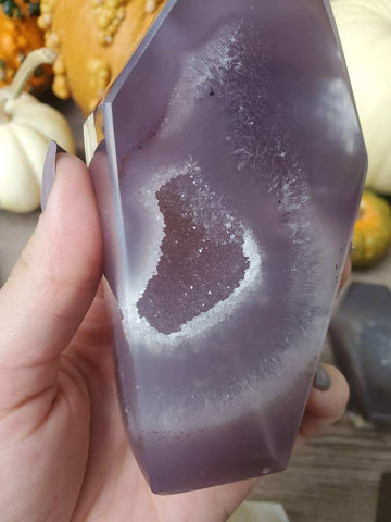 Witch's Way Agate Coffin