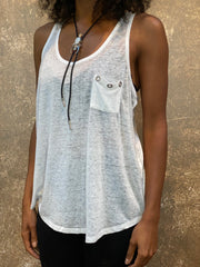 Tough Luv Grommet Pocket Tank