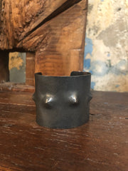 Dennis Higgins Emerging Spike Steel Cuff